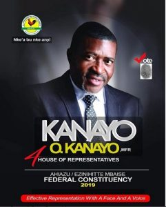 Veteran Actor, Kanayo O. Kanayo Releases His Official Campaign Poster