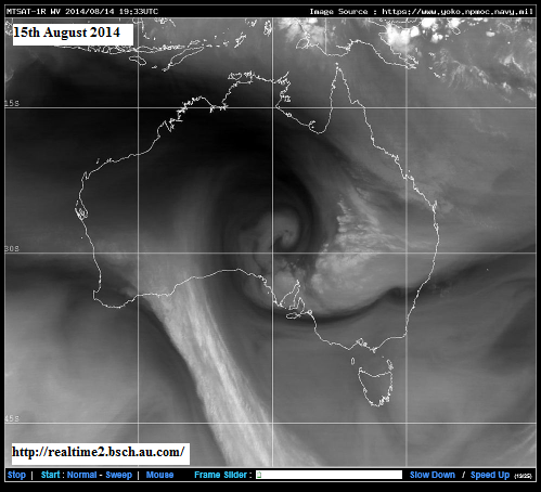 15th sug 2014 water vapor image