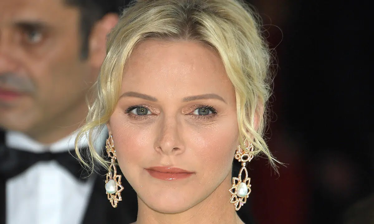 Princess Charlene Pictured for First Time Since illness