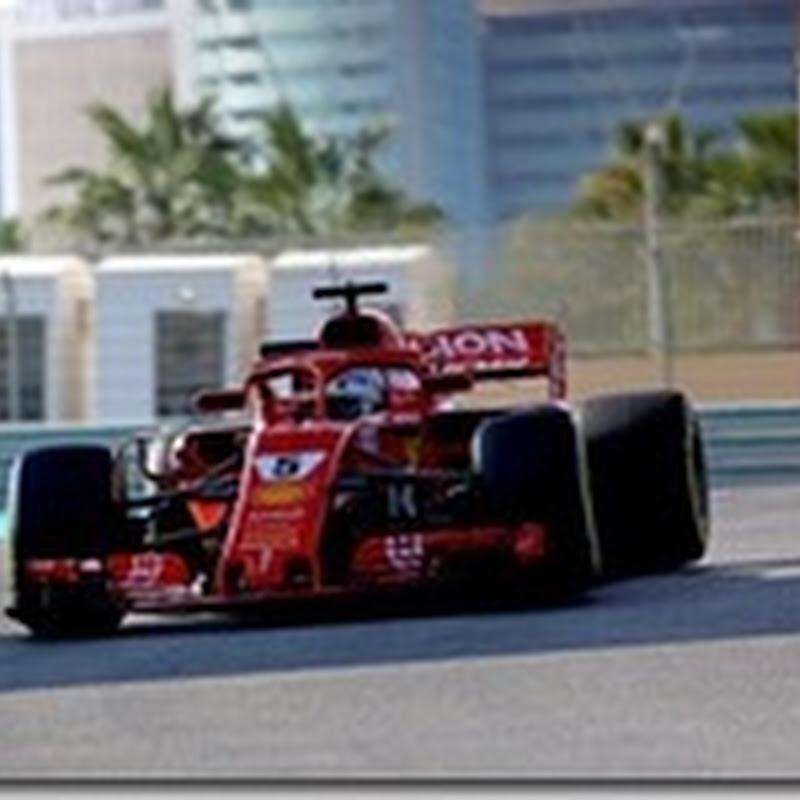 Test Abu Dhabi: Vettel è il più veloce nella prima giornata