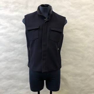 *clearance* Calvin Klein Collection Sleeveless Jacket