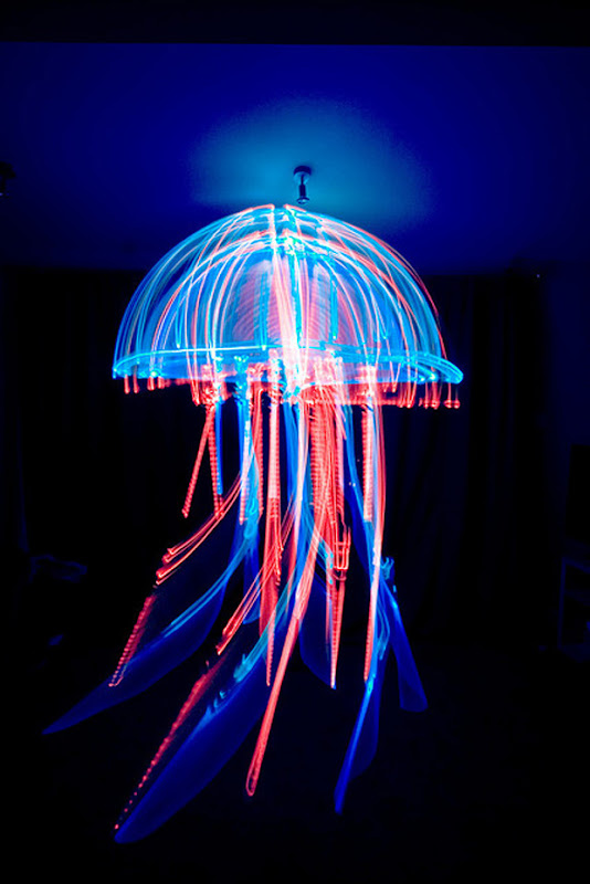Light Art Performance Photography by Ian Hobson