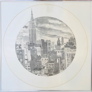 Jacqueline Fogel Signed Hand-Cut Lithograph