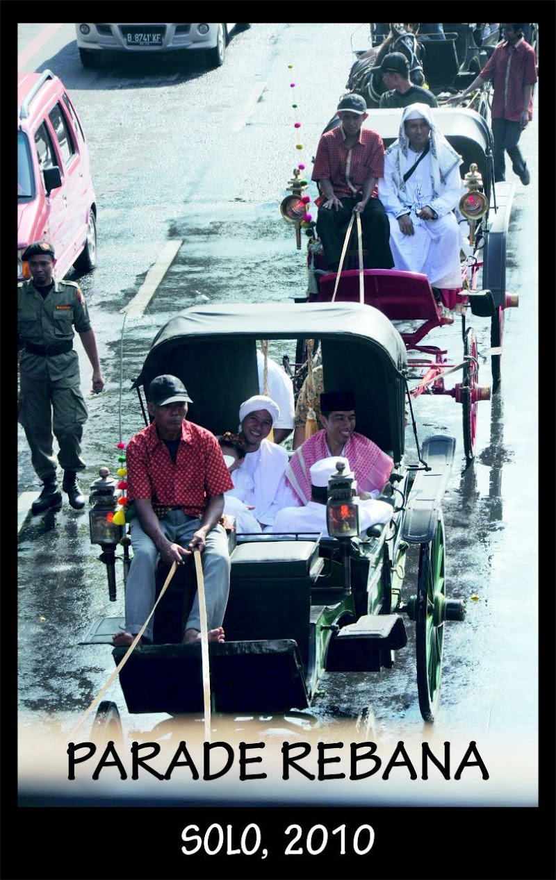 Nostalgia Jokowi pada Parade Rebana di Solo