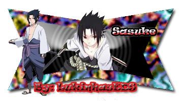 Meus trabalhos recentes Sasuke