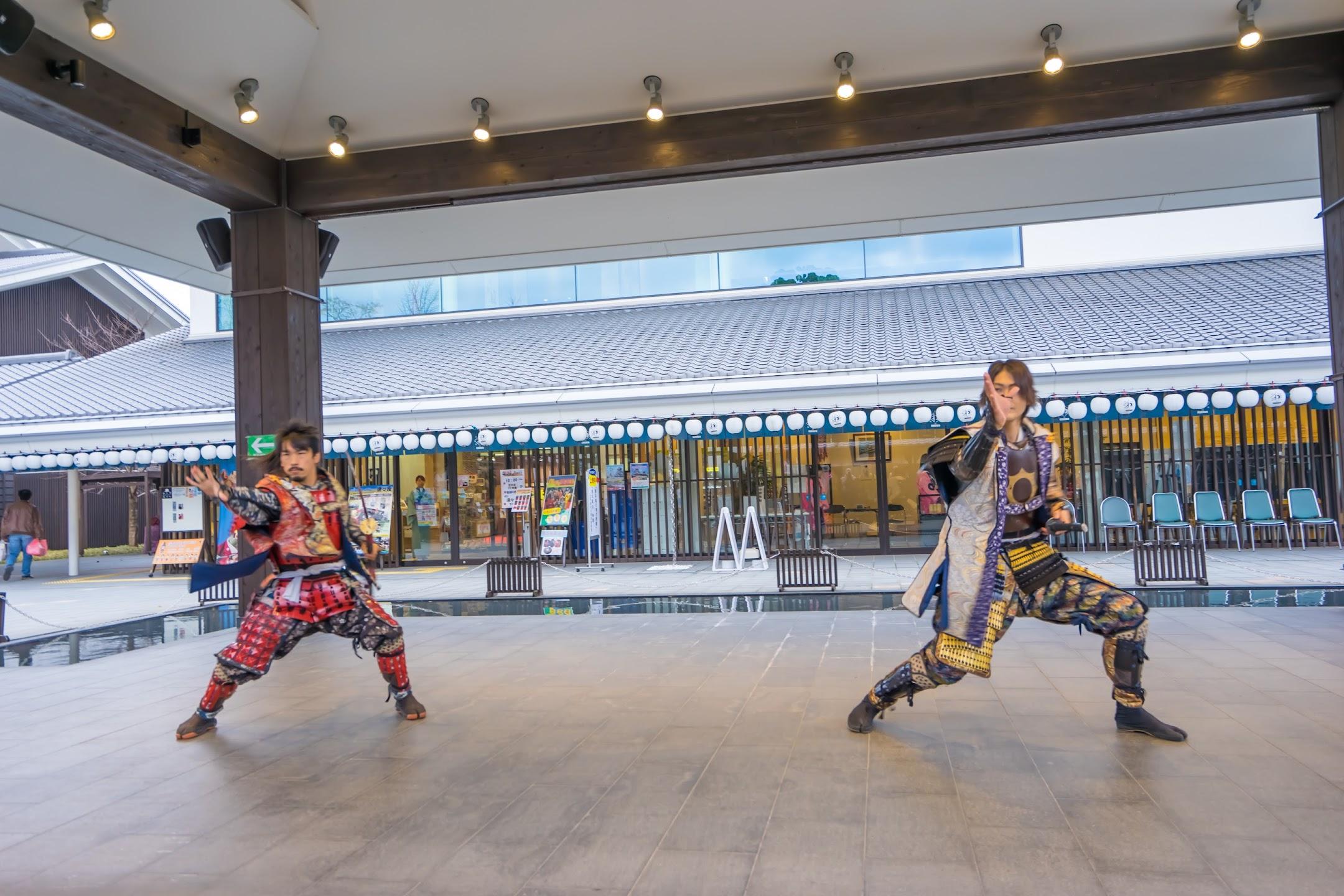 城彩苑 熊本城おもてなし武将隊の演舞3