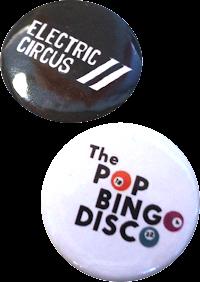 Pop Bingo Badges