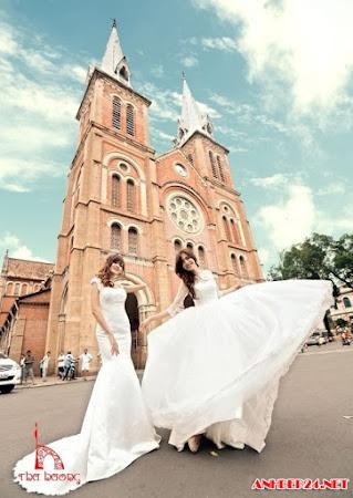 Tuyển chọn ảnh cưới đẹp lãng mạn ấn tượng nhất của các ngôi sao nổi tiếng