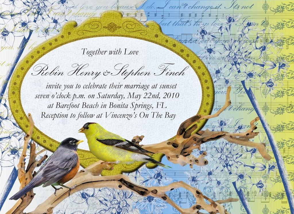 Robin Stephen Invite