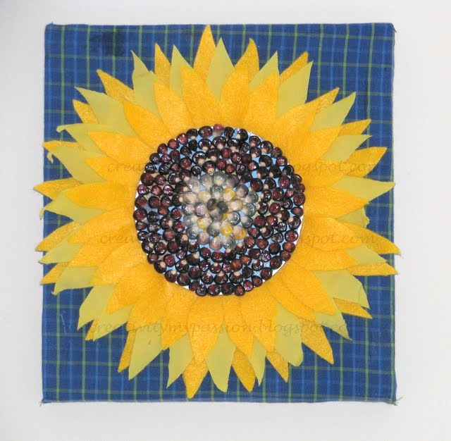 Sunflower Wall hanging | Craft To Art