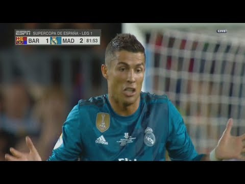 [Video] Barcelona vs Real Madrid 1-3 El-Clasico Highlight & Goal – Super Cup 13-08-2017