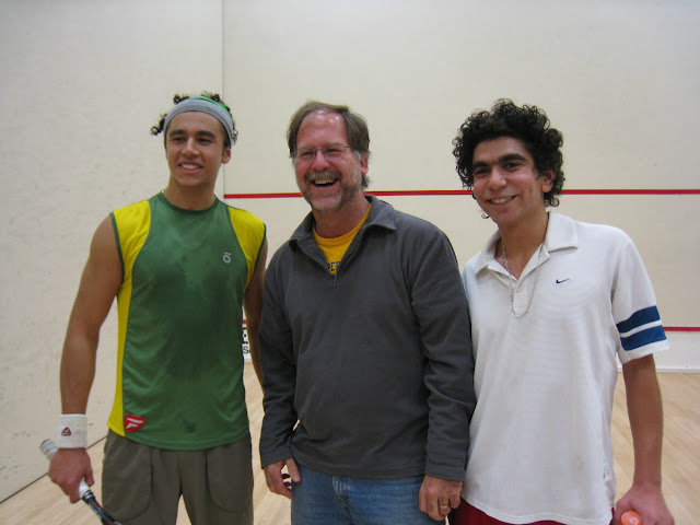 Mohammed El Sherbini, Maugus Club player Guy DeFeis, Mohammed Nabil