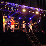 Coverband Stream, podiumtrailer, Doesburg