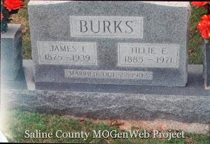 James and Tillie Burks