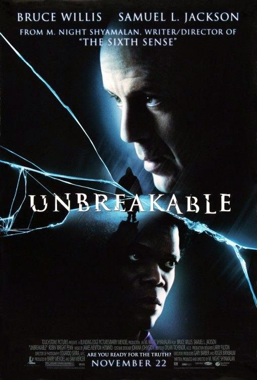 Poster Of Unbreakable (2000) Full Movie Hindi Dubbed Free Download Watch Online At alldownloads4u.com
