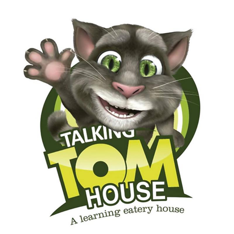 Lunch di TALKING TOM HOUSE bersama anak-anak !