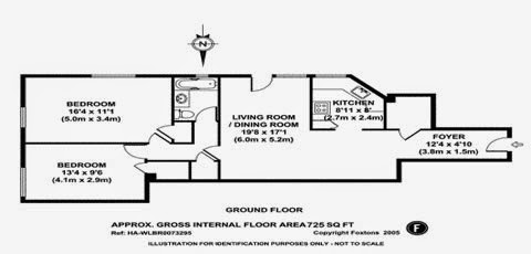 parkchester apartment and condominium two bedroom floor plan