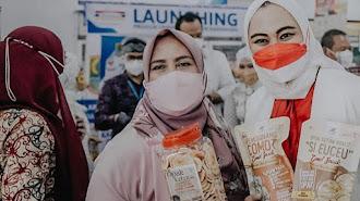 Bupati Karawang Launching Produk UMKM di Indomaret