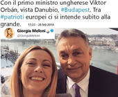 Meloni e Orban