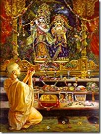 [Worshiping Krishna]