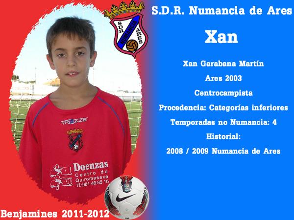 ADR Numancia de Ares. Benxamíns 2011-2012. XAN.