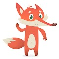 Cartoon Fox Illustration Free Download Vector CDR, AI, EPS and PNG Formats
