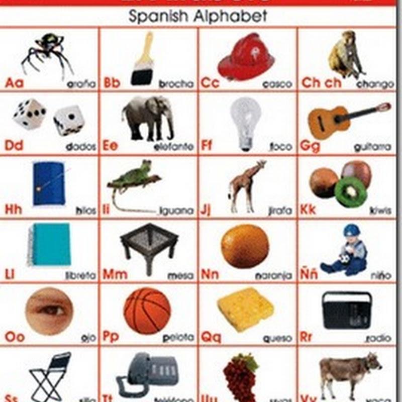 Láminas alfabeto y numeros