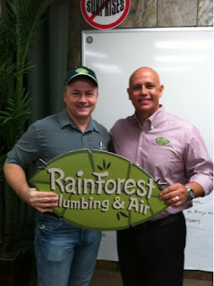 Endorses Rainforest Plumbing & Air
