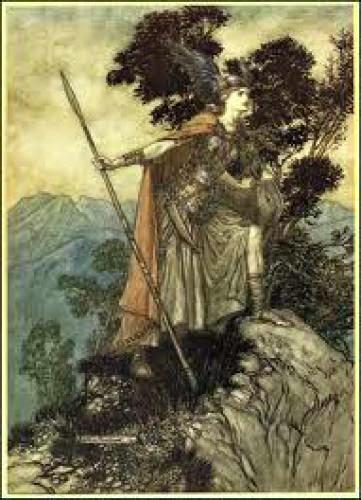 Valkyrie Warrior Goddess Freya Invocation