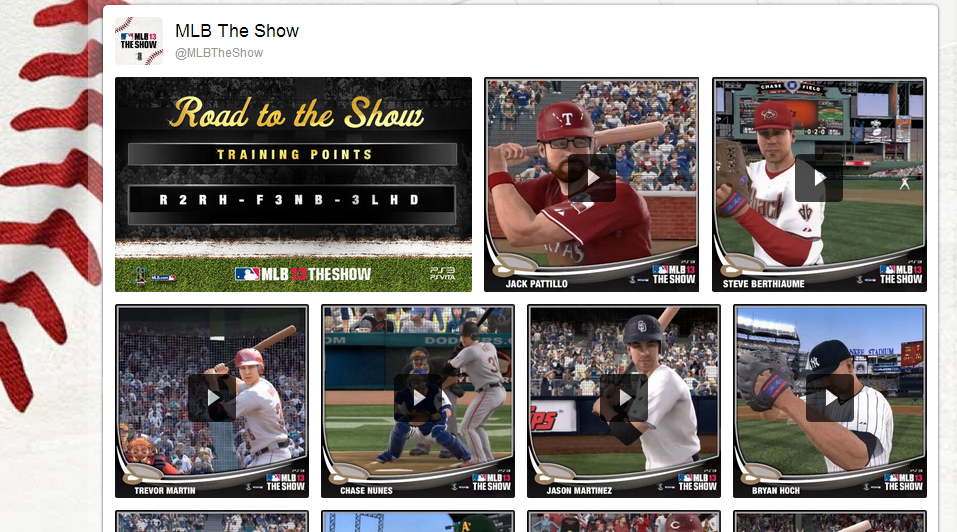 Sony Playstation's MLB 13 The Show Creates First Twitter Vine Ad Campaign