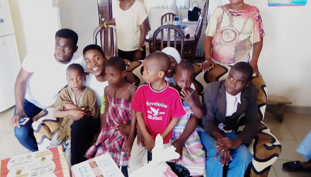 Andrew foundation storms our lady of peace orphanage warri