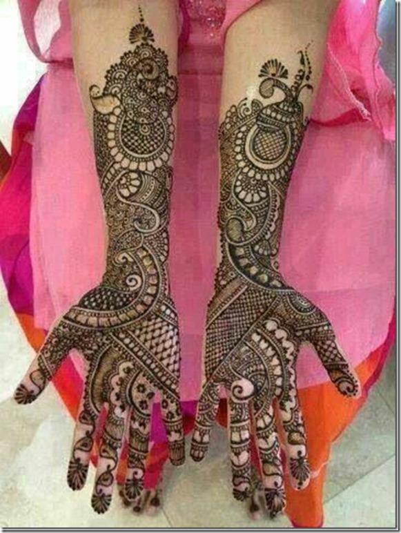 Raja Rani Bridal Mehndi Designs : Latest rajasthani mehndi designs with photos