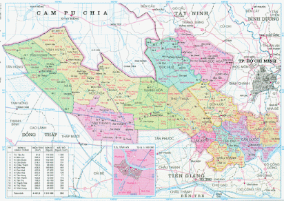 Huyện Đức Hòa, Đức Huệ, Thạnh Hóa, Mộc Hóa đang là những địa điểm tiềm năng để đầu tư nuôi chim yến tại Long An.