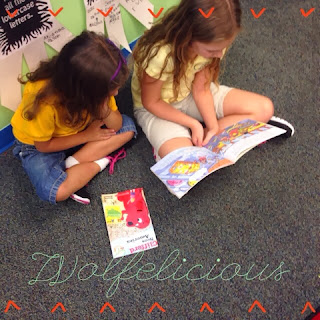 Photo of Reading Buddies Wolfelicious