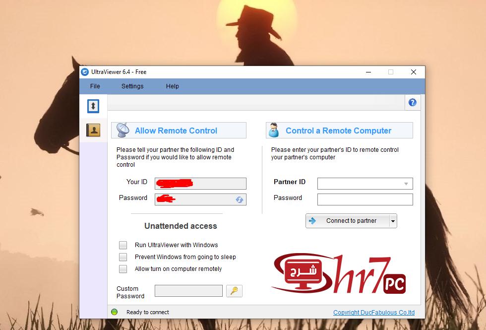 برنامج UltraViewer