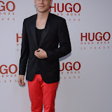 WWW.ENTSIMAGES.COM -   Mr Hudson   attending  HUGO: RED NEVER FOLLOWS - private view / party of exhibition to celebrate 20th anniversary of Hugo Boss, featuring the brand's RED NEVER FOLLOWS project which saw it collaborate with 20 'urban creatives' from around the world July 30th 2013                                                     Photo Mobis Photos/OIC 0203 174 1069