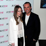 WWW.ENTSIMAGES.COM -   Rosie Fortescue and Nick Ede  at     JustFab current  and future fashion trends event at The Millennium Hotel, 44 Grosvenor Square, London June 12th 2013                                                   Photo Mobis Photos/OIC 0203 174 1069
