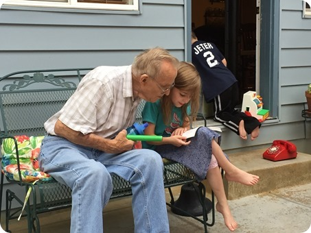 Time with Great Grandpa Paul