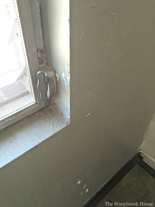 Upstairs window damage2