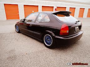 EK Civic rear