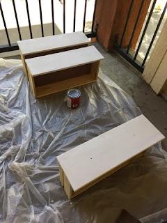 Painting Ikea Rast Cabinet