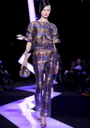 luxurious collection spring-summer 2013 by Giorgio Armani