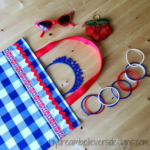 DIY Summer Parade Tote by Daydream Believers
