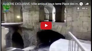 Vidéo: Une ville datant de la période ottomane découverte sous la Place des Martyrs à Alger