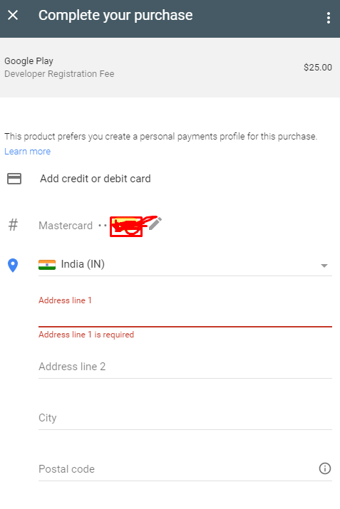 Google Play Console Didn't Show Afghanistan in Country List