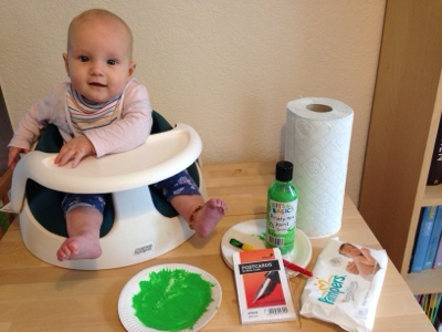 Life And Times Of Mummy Morkus Baby Craft At Christmas Christmas Cards
