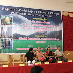 Images from the Southern Regional Climate Change Workshop held at Hosur on 7th and 8th, July 2011 organized by the All India Peoples' Science Network, Delhi Science Forum and Tata Institute of Social Sciences, Mumbai and supported by Shakti Sustainable Energy Foundation. The programme was hosted by PMC Tech College, Hosur and Tamilnadu Science Forum.