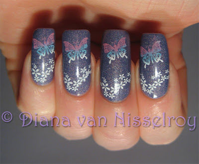 Diana maart 2011 catrice420dirtyberrynailart2g prinsesfo Images