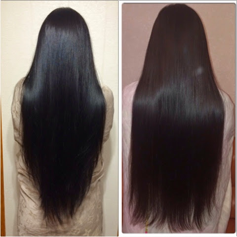 Волосы клином на средние волосы