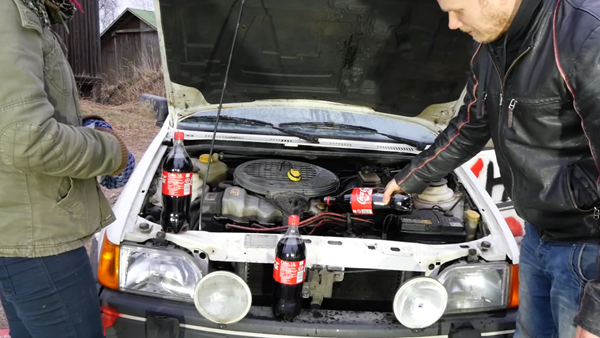 coca-cola engine